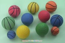 發泡疊球和籃球