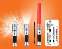 1 WATT LED超強白光立式燈/手電筒/指揮棒三用燈