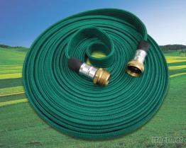 園藝扁型編織灑水管