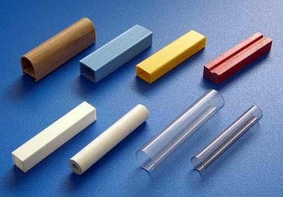 異型押出, 四方型和圓管類押條