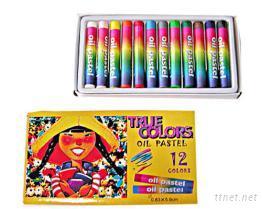 12色粉蠟筆