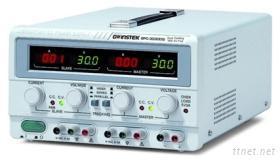 直流电源供应器0 ~ 30 V,0 ~ 3 A x 2,5 V/3 A固定