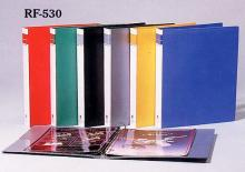 色板三孔档案夹