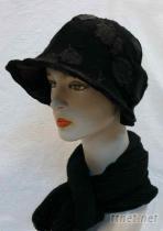 八片淑女帽