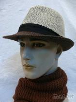 冬絨紗紳士帽+飾