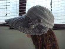 麻布草遮陽帽