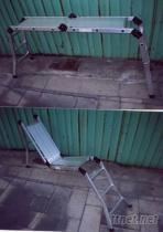 平板加折叠梯