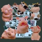 冰箱減肥豬/減肥牛