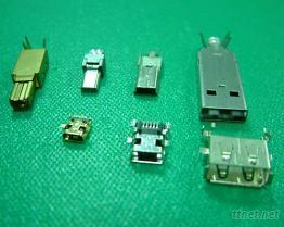 USB銅殼