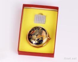 攜帶式印泥盒~景泰藍文具禮品, 客制化禮贈品、質感禮贈品