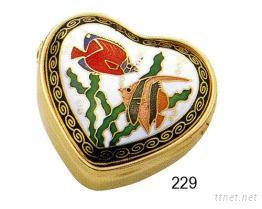 大心型珠寶盒