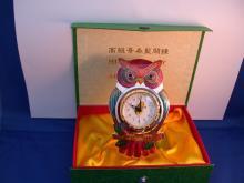 猫头鹰造型鬧钟