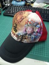 (彩色轉印) 棒球網帽