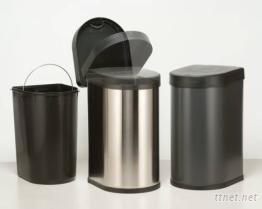 不繡鋼垃圾桶