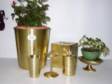 (六件組) 銅製沐浴用品