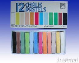 12色粉筆
