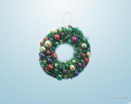 聖誕大花圈