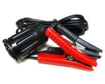 雙電瓶夾(銅材質及60英寸重型直電纜線) 多功能豪華插座組
