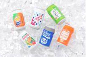 日本進口造型環保橡皮擦(易開罐系列)
