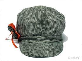 花布小童帽