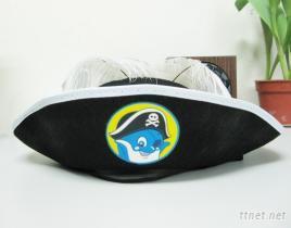 海盗帽 / 道具帽 / 无纺布定型帽 / 船长帽