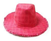 粉紅牛仔帽
