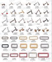 裝飾螺絲釘, 腳釘, 銅扣