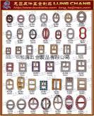 皮革釦環, 袋類釦環, 服裝釦環