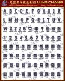 DIY 鏤空字母 吊飾五金 鑰匙圈配件 流行飾品 手工藝