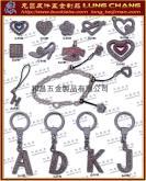 DIY 时尚 水钻字母 吊饰五金配件 流行饰品 钥匙圈配件