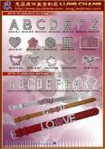手鏈 手環  飾品配件 DIY字母 水鑽吊飾  合金製品