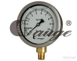 充油半鋼壓力錶