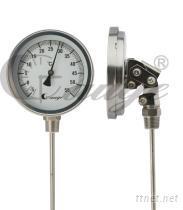 可調角雙金屬溫度錶