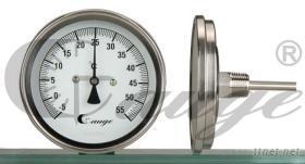 背接式雙金屬溫度錶