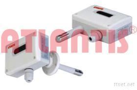 室內/風管型三線式溫濕度傳送器