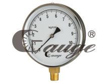 立式4 1/2半鋼壓力錶