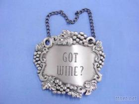 鉛錫合金大酒牌