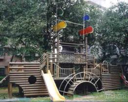 木製戶外遊戲組