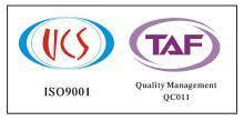 ISO9001认证, UCS-Q-12-134