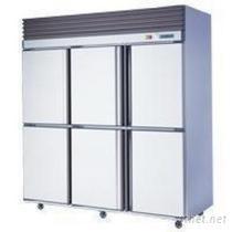 6尺6門不鋼冷凍冷藏櫃