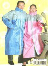 彩色尼龍雨衣