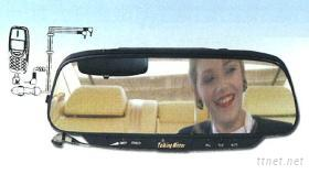 后视镜型车用免持装置