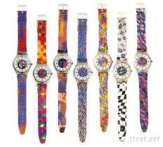 錶帶表面絲印