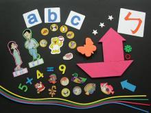 幼兒輔助磁性教材