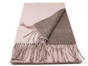 纯羊毛保暖围巾-驼色系
