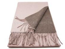 純羊毛保暖圍巾-駝色系