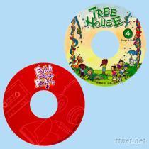 CD貼紙印刷
