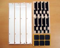 電子薄片材料沖型