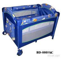 婴儿游戏床