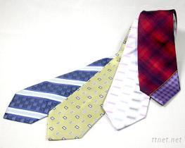 蚕丝织花领带